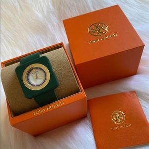 AUTHENTIC TORY BURCH THE IZZIE WATCH TBW3018